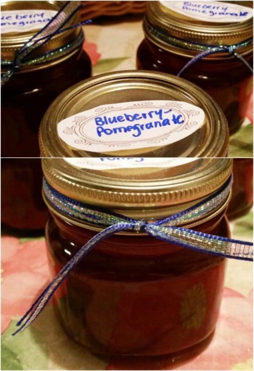 Bluberry Pomegranate Jelly