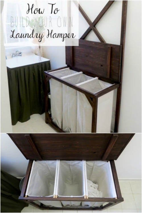 DIY Laundry Sorting Hamper