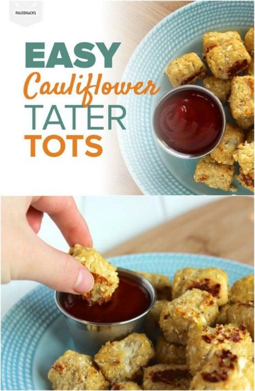 Cauliflower Tater Tots