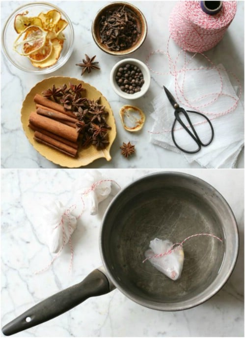 DIY Mulling Spice Packets