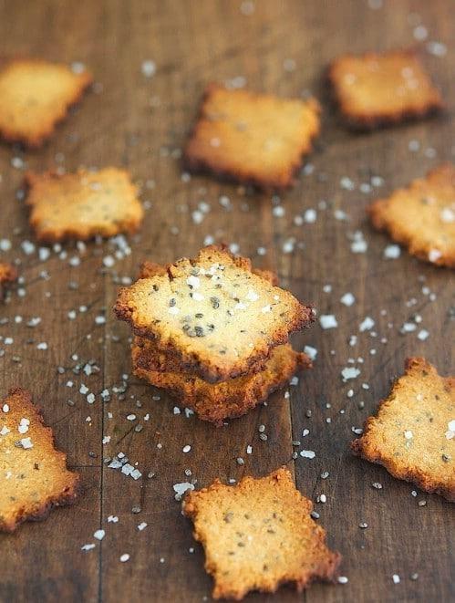 Homemade Chia Seed Crackers