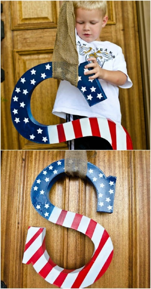 20 Diy Rustic Wood Fourth Of July Decor Ideas To Show Your Patriotic Pride Diy Amp Crafts