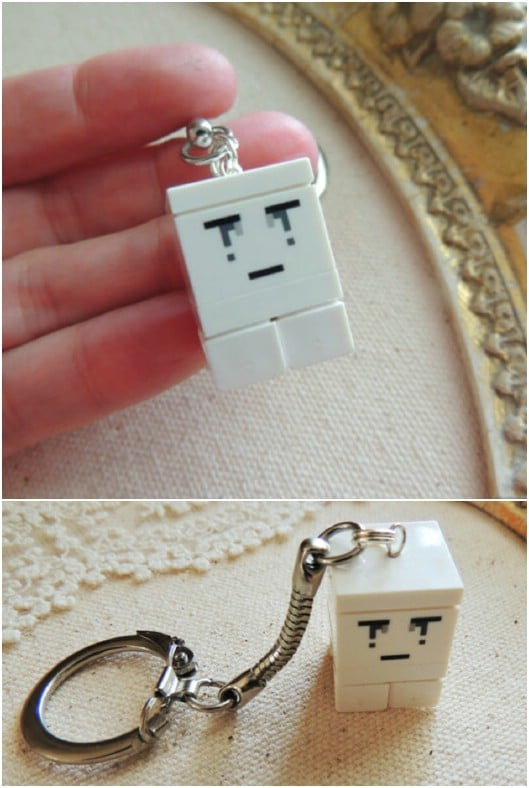 Lego Character Key Chain