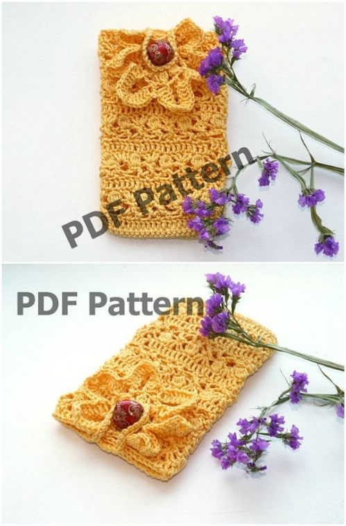 DIY Crochet Phone Case