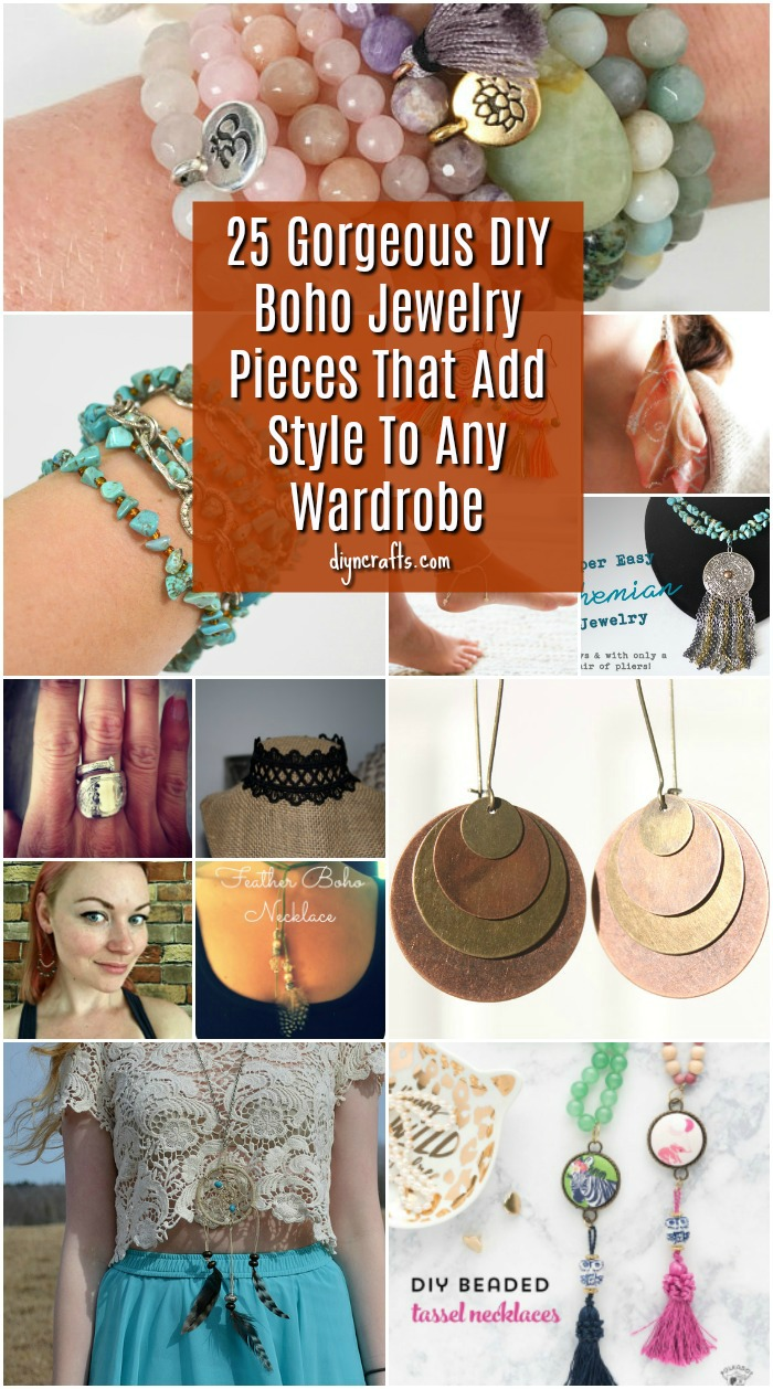 25 Gorgeous DIY Boho Jewelry Pieces That Add Style To Any Wardrobe