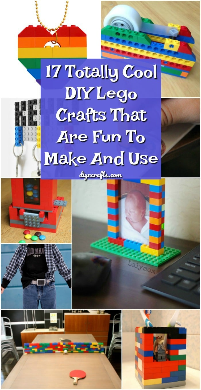 17 Totally Cool DIY Lego Crafts That Are Fun To Make And Use
