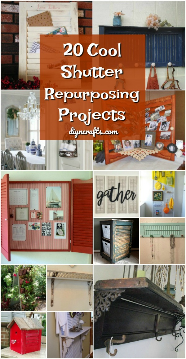 20 Rustic Shutter Repurposing Projects to Add Style to Your Home