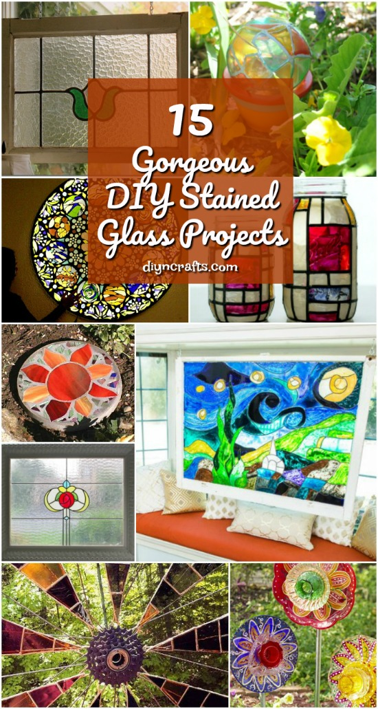 15 Gorgeous DIY Stained Glass Projects That Will Beautifully Decorate Your Outdoors