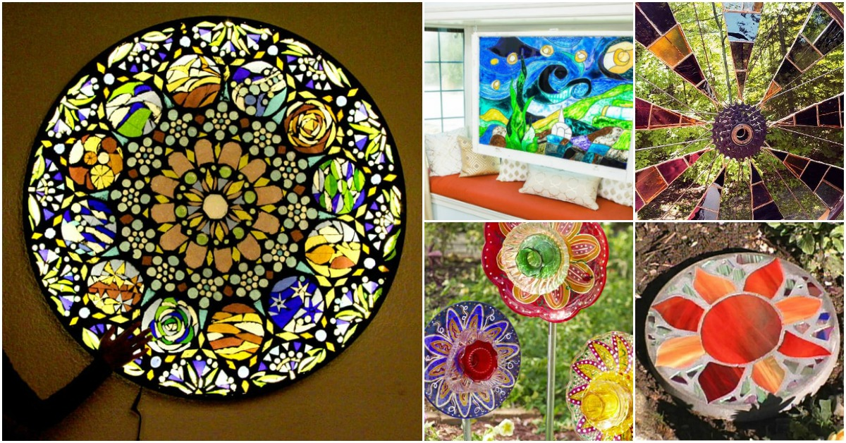 15 Gorgeous Diy Stained Glass Projects That Will
