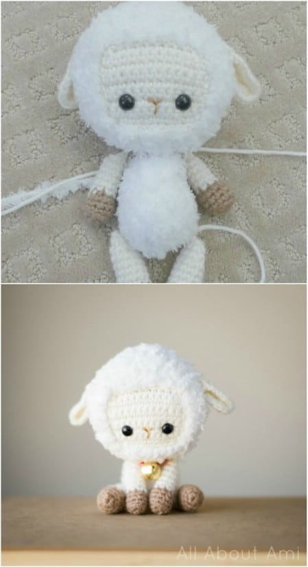 Adorable Crochet Sheep