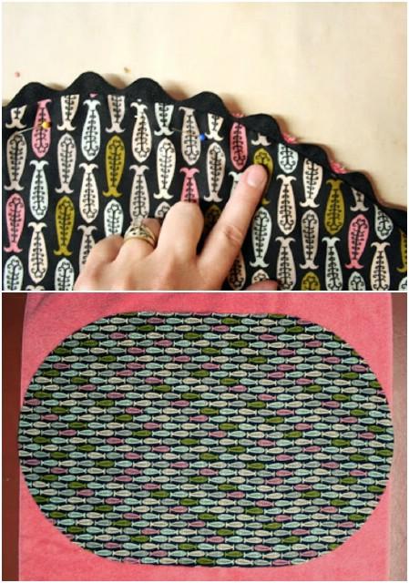 Hand Sewn Terry Cloth Bath Mat