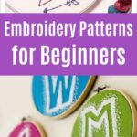 Embroidery Pattern Collage