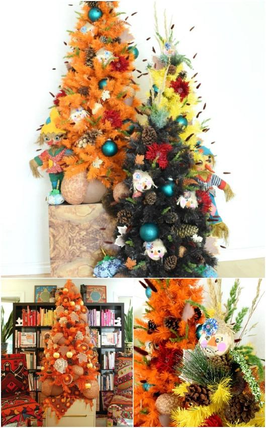 Adorable DIY Scarecrow Ornaments