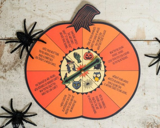 Halloween Spin Game