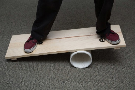 Easy Homemade Balance Board