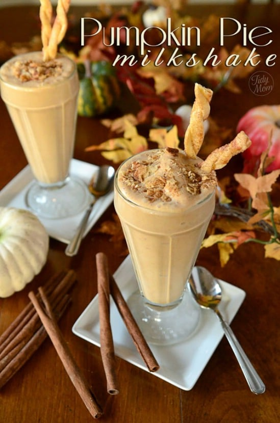 Tasty Pumpkin Pie Milkshake