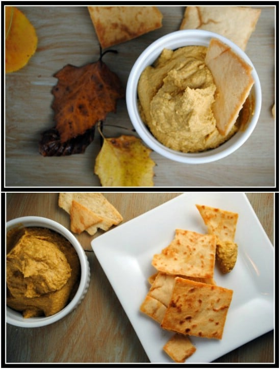 Fall Pumpkin Hummus
