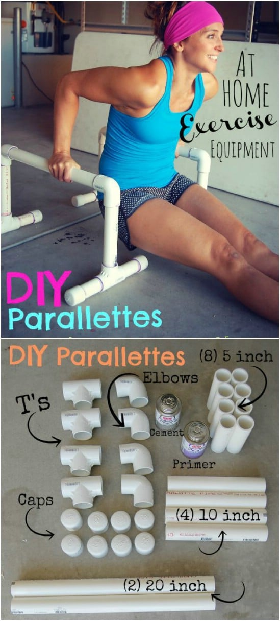 DIY Parallettes
