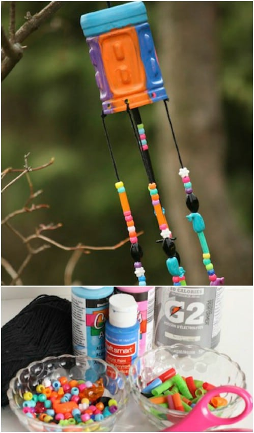 DIY Beaded Windchimes