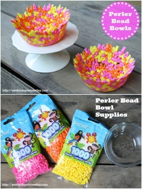 Homemade Beaded Bowl