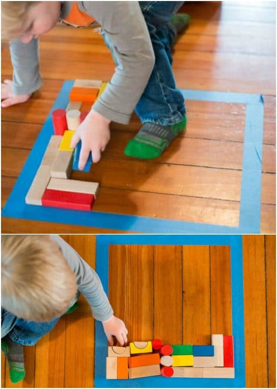 Simple DIY Floor Puzzle