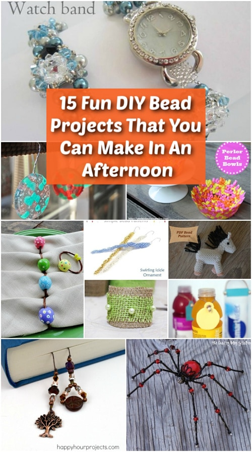 15 Fun Diy Bead Projects That You Can Make In An Afternoon