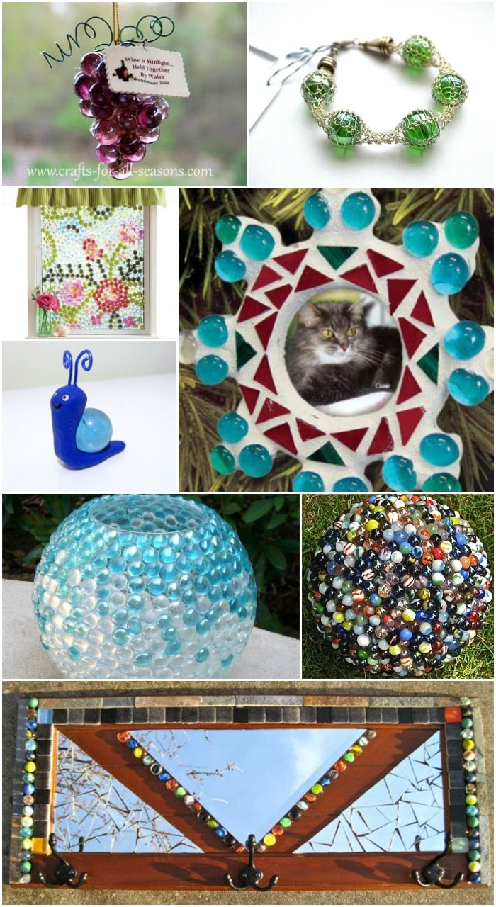 15 Ways To Turn Glass Marbles Into Home Decor And More