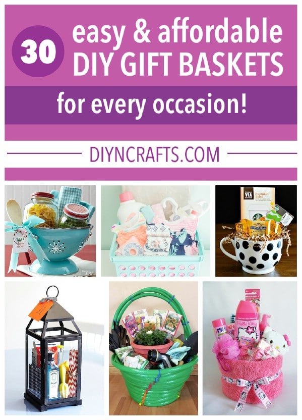 Gift basket ideas for every occasion.