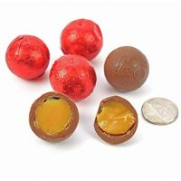 Foiled Caramel Filled Chocolate - Red