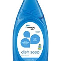 Mountain Falls Ultra Concentrated Dish Soap, Clean Scent, Compare to Dawn, 40 Fluid Ounce