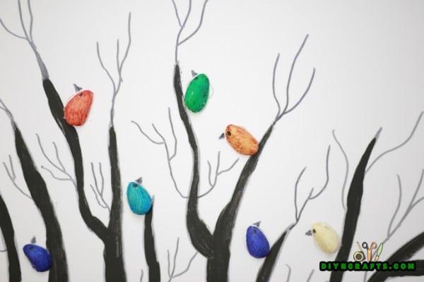 How to Turn Pistachio Shells Into Beautiful Wall Art