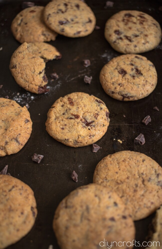 Delicious Homemade Chocolate Chip Cookies Recipe
