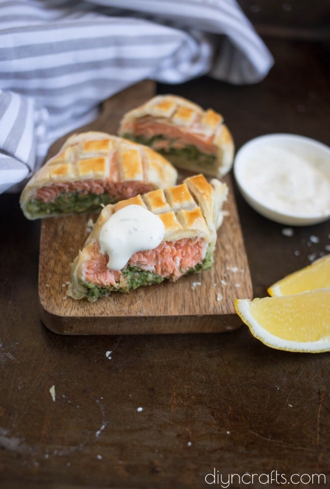 Light and Healthy Homemade Salmon Wellington Recipe