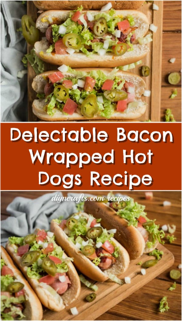 Delectable Bacon Wrapped Hot Dogs Recipe