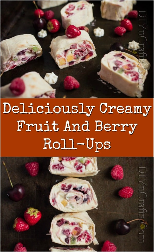 Deliciously Creamy Fruit Roll-Ups Recipe