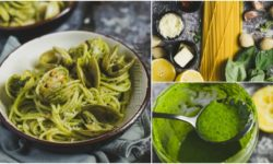 Easy and Delicious Spaghetti Pesto With Clams Recipe