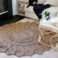 MOMENTOUS OCCASION; crochet Rug