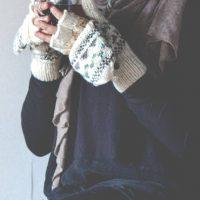 Namche Hand Knit Convertible Mitten
