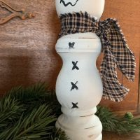 Salt Shaker Snowman - decorative use only
