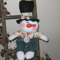 Snowman Doll, Snowman Decoration