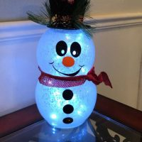 Snowman light up snowman