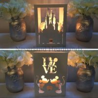 Castle and Mice metal candleholder- Lantern