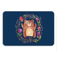 Kids Bathroom Mat, Bear Bath Mat