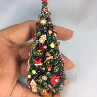 Miniature Christmas tree 1:12 scale