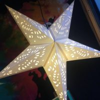 Hand-made Indian Paper Star Lanterns