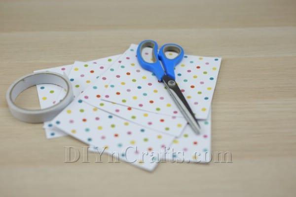 Paper star materials: