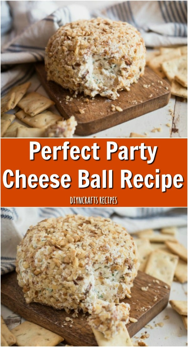 Perfect Party Cheese Ball Recipe