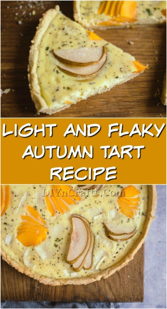 Light And Flaky Autumn Tart Recipe