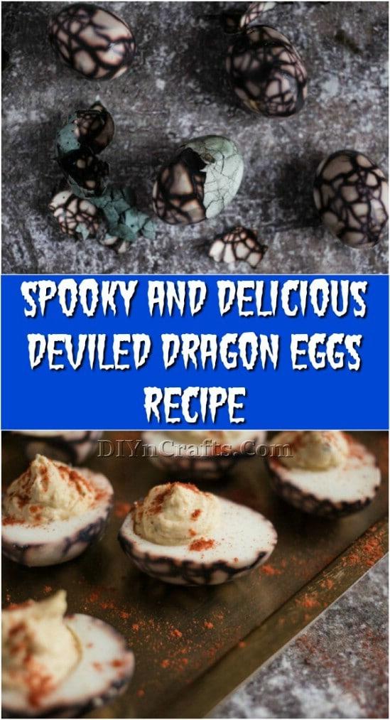 Spooky And Delicious Deviled Dragon Eggs Recipe