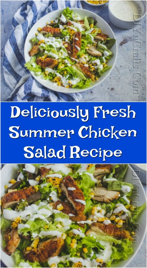 Deliciously Fresh Summer Chicken Salad Recipe